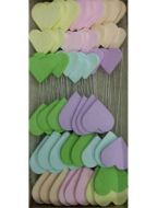 Pastel Sugar Hearts on Wire Box 54