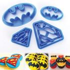 Batman - Superman Cookie Cutter