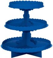 3 Tier Treat Stand Royal Blue