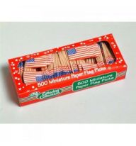 U.S.A. Flag Picks  Pack of 500
