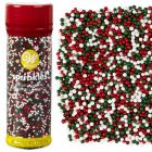 Xmas Edible Nonpareils Mix