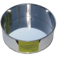 87mm. Round   Tin  (3.5in.) Cake Tin Hire