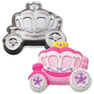 Princess Carriage Cake Pan Hire